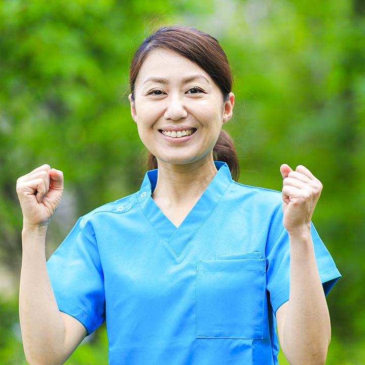 幅広い担い手が活躍する介護職